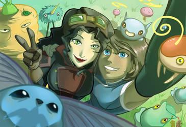 Korrasami Selfie - Color by Tamura