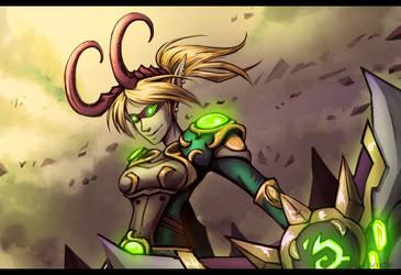 WoW Character Demon Hunter
