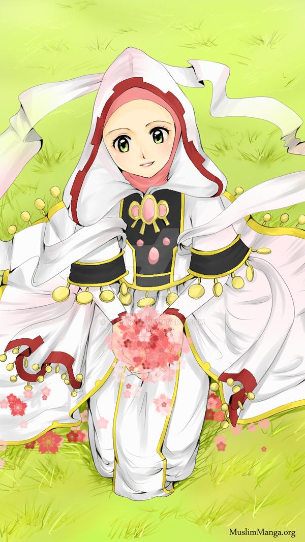 Hijab Sakura Colored