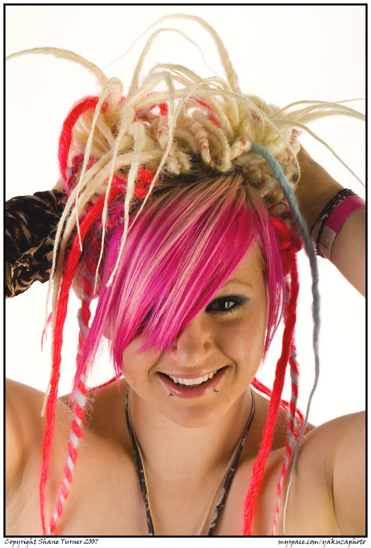 Tiger lily dreads 1 by yakuzaphoto on deviantart - Tiger lily hair salon ...