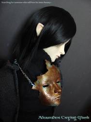 Alexander Crying Mask by runya-dim