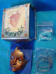 Alexander Crying Mask and box by runya-dim