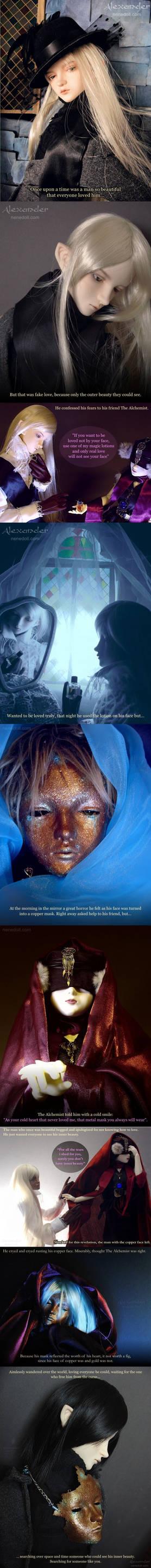 Alexander Story-Crying Mask