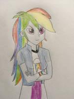 Rainbow Dash by CaptainEdwardTeague
