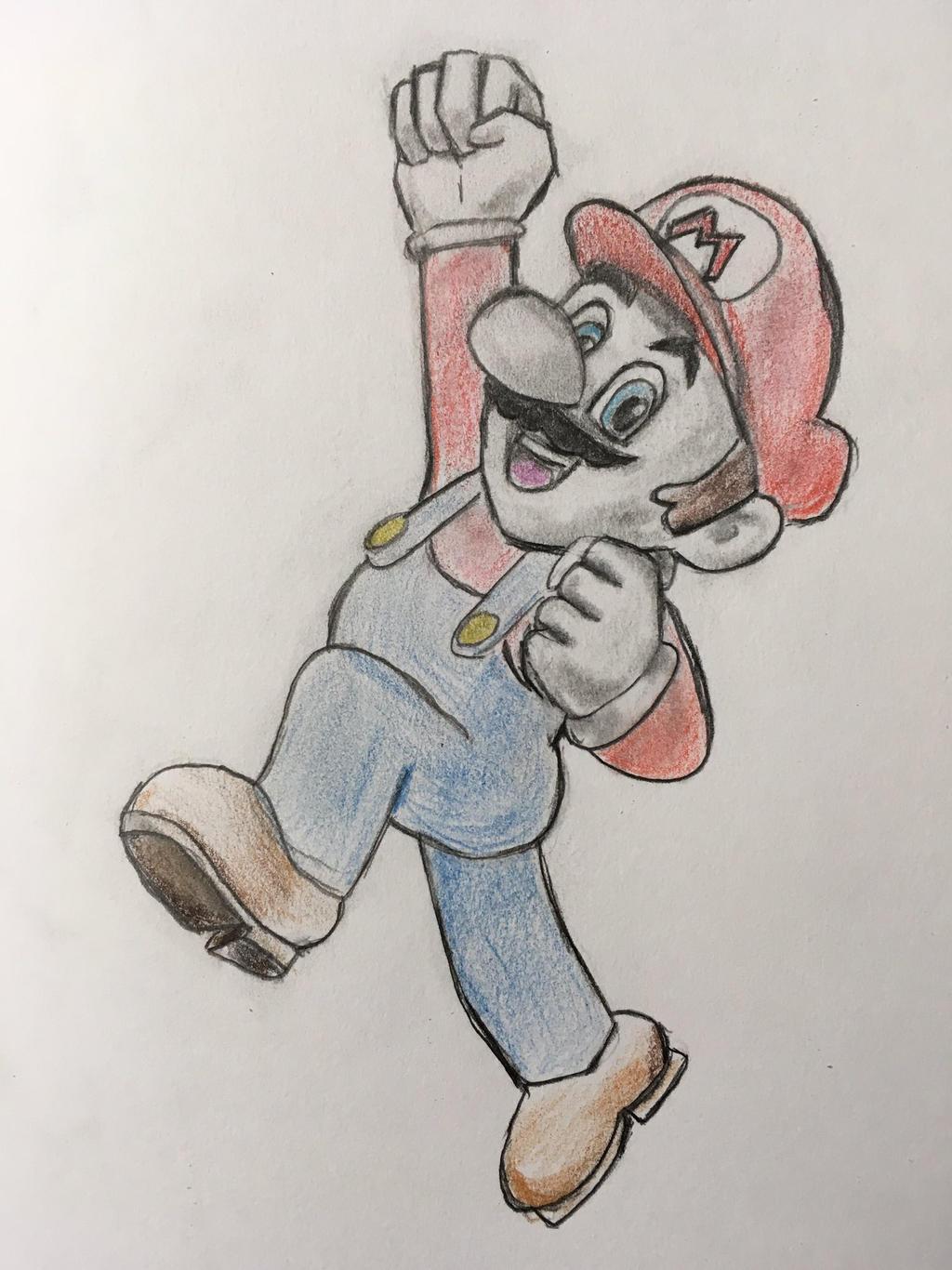 Mario by CaptainEdwardTeague