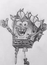 SpongeRat by CaptainEdwardTeague