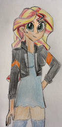 Sunset Shimmer by CaptainEdwardTeague