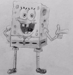 SpongeBob SquarePants by CaptainEdwardTeague