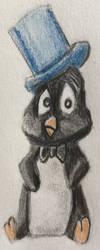 Playboy Penguin by CaptainEdwardTeague