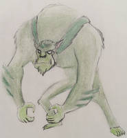 WereBeast from Teen Titans by CaptainEdwardTeague