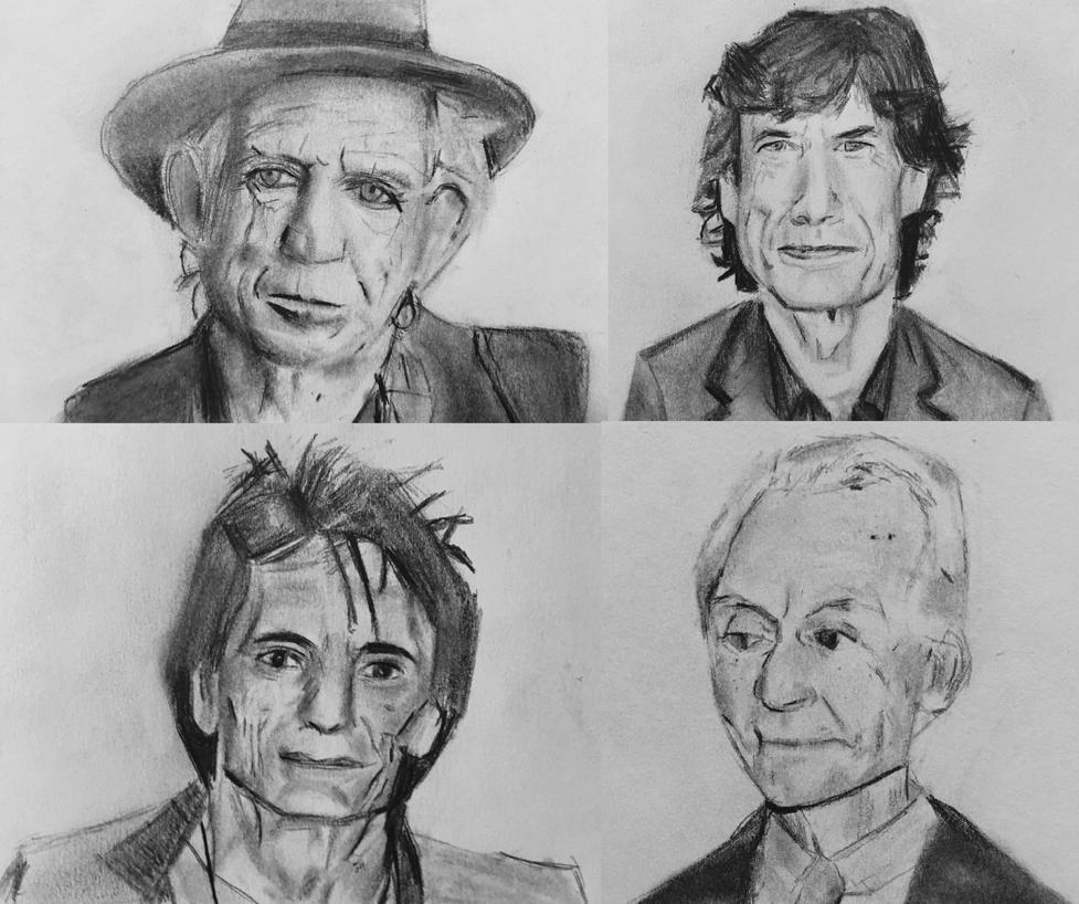The Rolling Stones by CaptainEdwardTeague