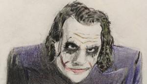 Heath Ledger The Joker by CaptainEdwardTeague