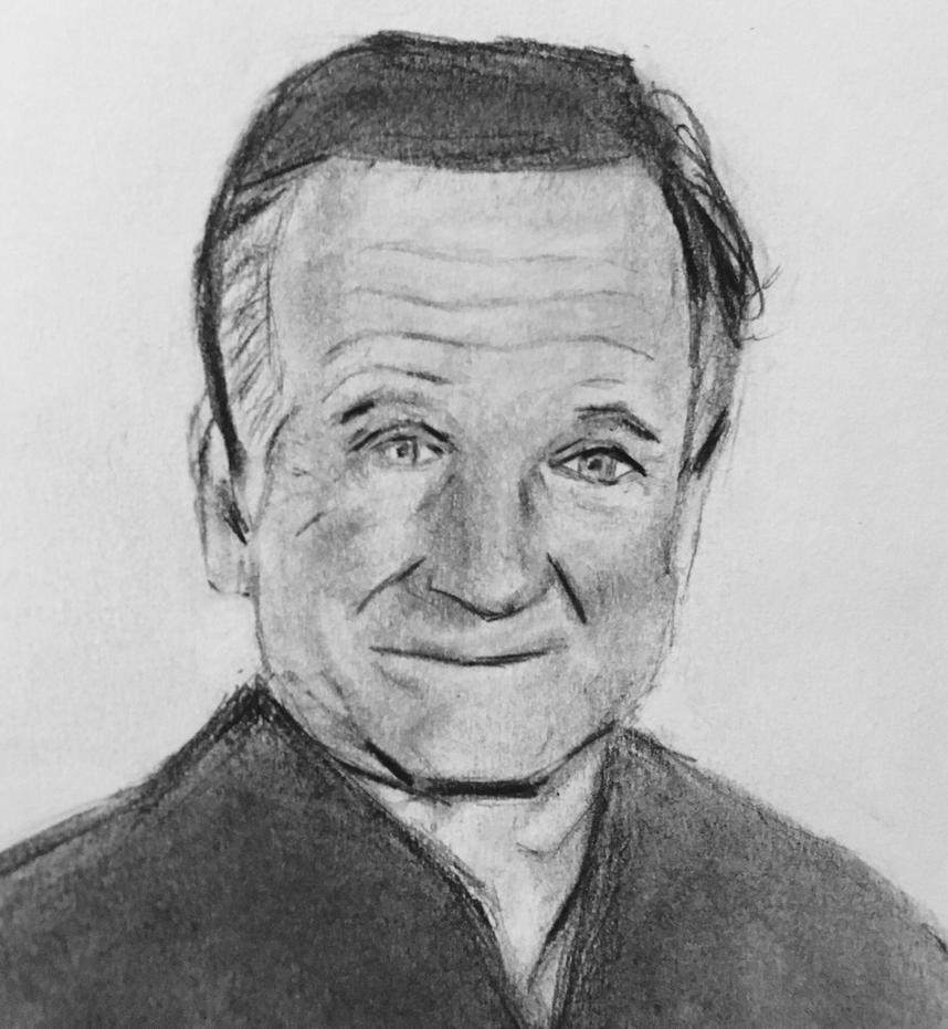 Robin Williams by CaptainEdwardTeague