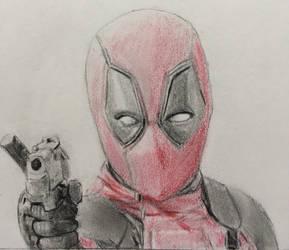 Deadpool with a gun