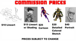 Commission Prices by CaptainEdwardTeague