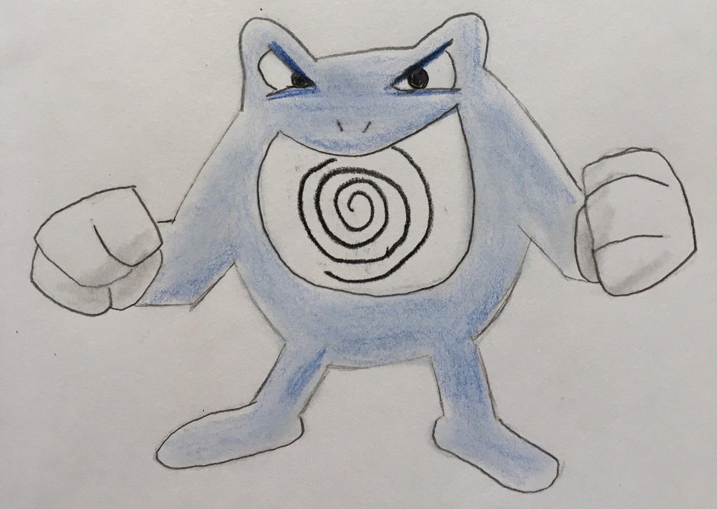 Poliwrath by CaptainEdwardTeague