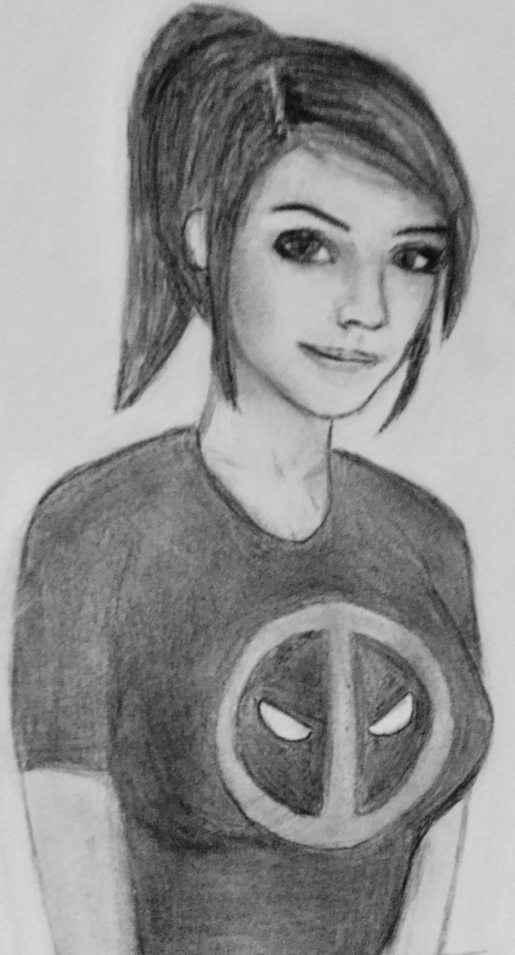 Kay self portrait by CaptainEdwardTeague