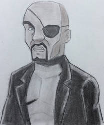 Nick Fury by CaptainEdwardTeague