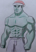 The Incredible Hulk by CaptainEdwardTeague