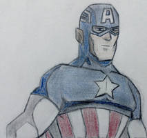 Captain America by CaptainEdwardTeague