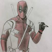 Deadpool Work In Progress by CaptainEdwardTeague