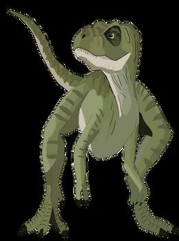 Baby T Rex from The Lost World Jurassic Park Dgtl