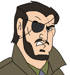 Big Boss from Metal Gear by CaptainEdwardTeague