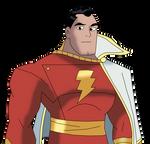 Shazam in Teen Titans Style