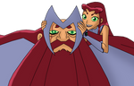 Starfire and Galfore