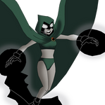 Raven as Specter using Magic