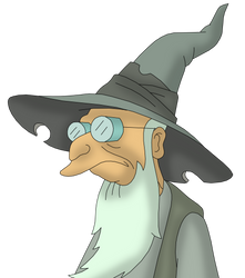 Sorcerer Farnsworth from Futurama