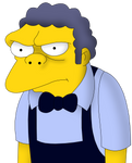 Moe Syzlak from The SImpsons