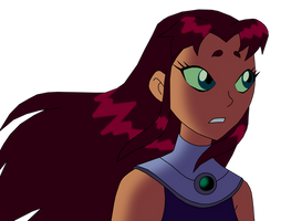 Starfire in wind SOmething Behind You