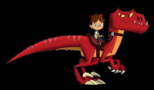 Cody and Raptor