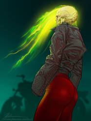 Lady Ghost Rider by Sunglasses-afterDARK