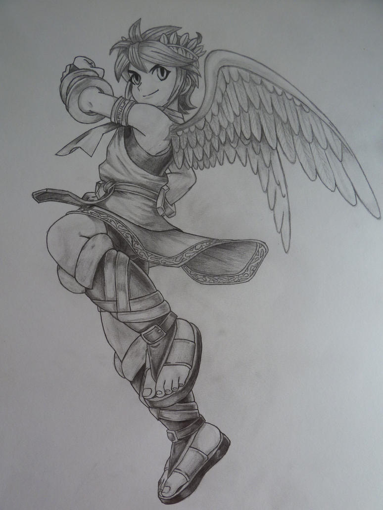 Kid Icarus Pit By SoraSonic