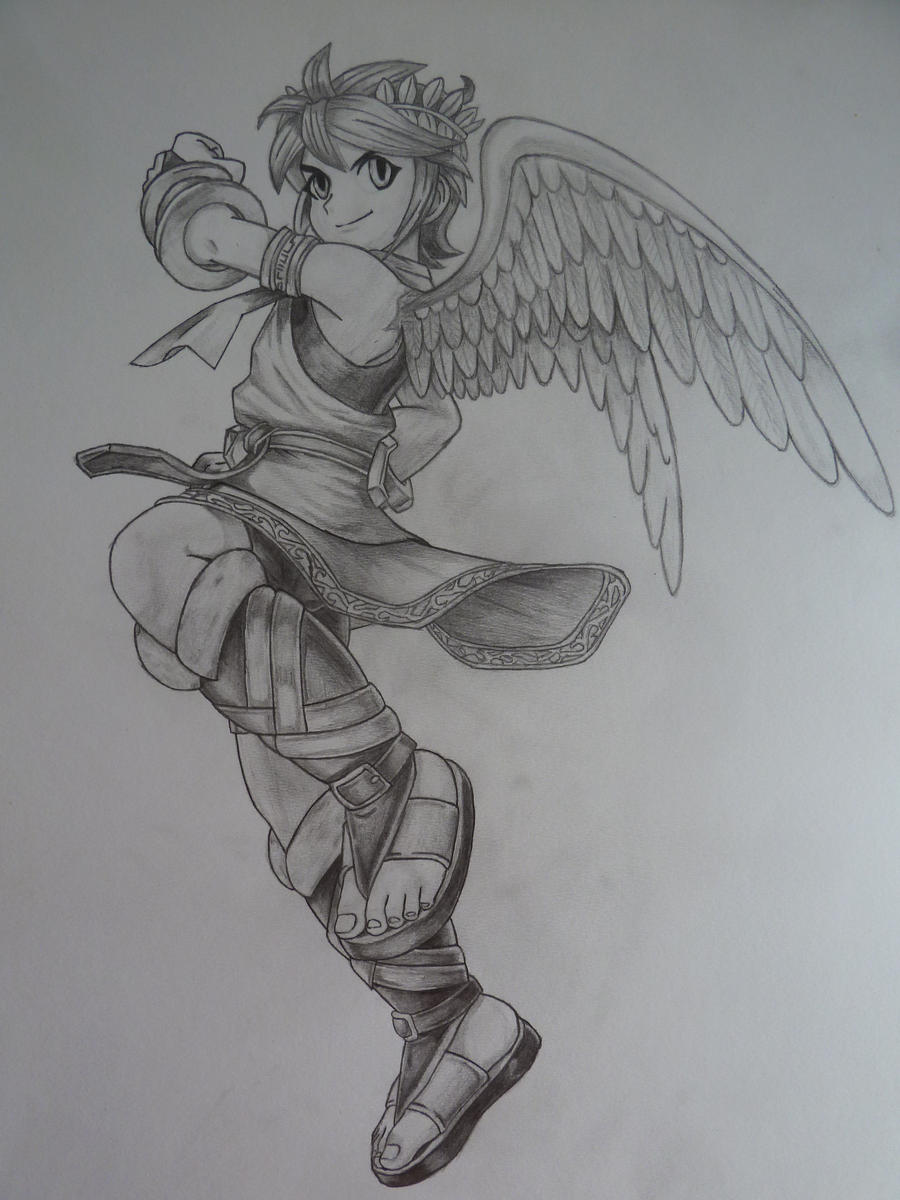 Kid Icarus Pit By SoraSonic On DeviantArt
