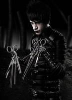 Jon Scissorhand by mysticalpotatohead