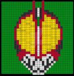 Kamen Rider Faiz With LEGO