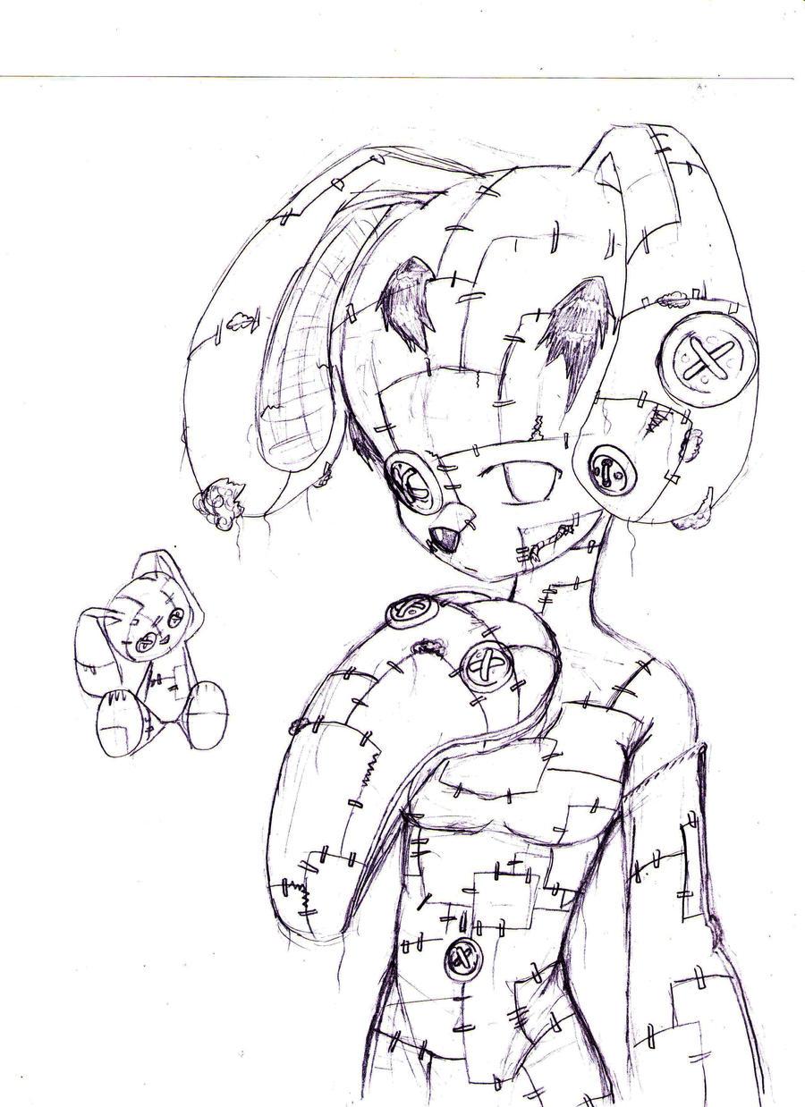 how to draw zootopia bunny