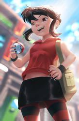 Vincoy's Redgirl by karlsia