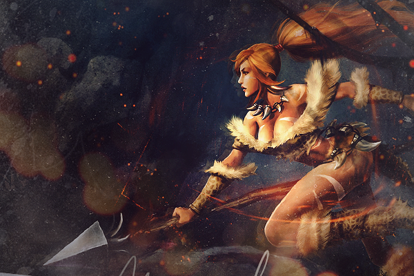 #77 Swift Leopard_nidalee_by_leobueno-d6f7br7