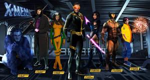 X-MEN Reboot Concept Art by JinKauai