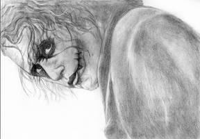 Joker Heath Ledger by ribkaDory