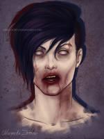 zombie Kai by ribkaDory