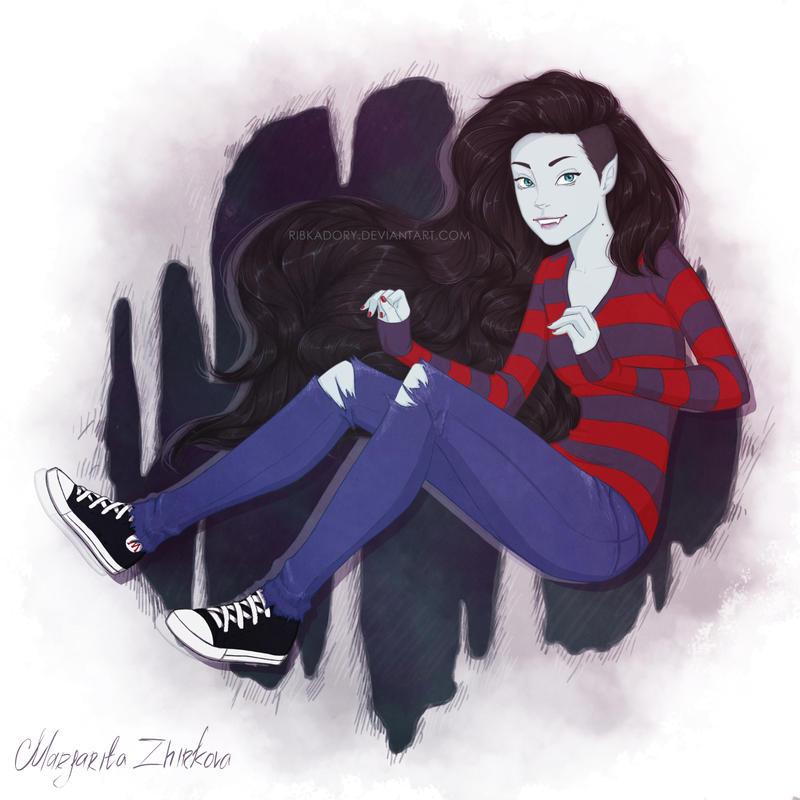 Marceline by ribkaDory