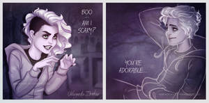 I am scary like you by ribkaDory