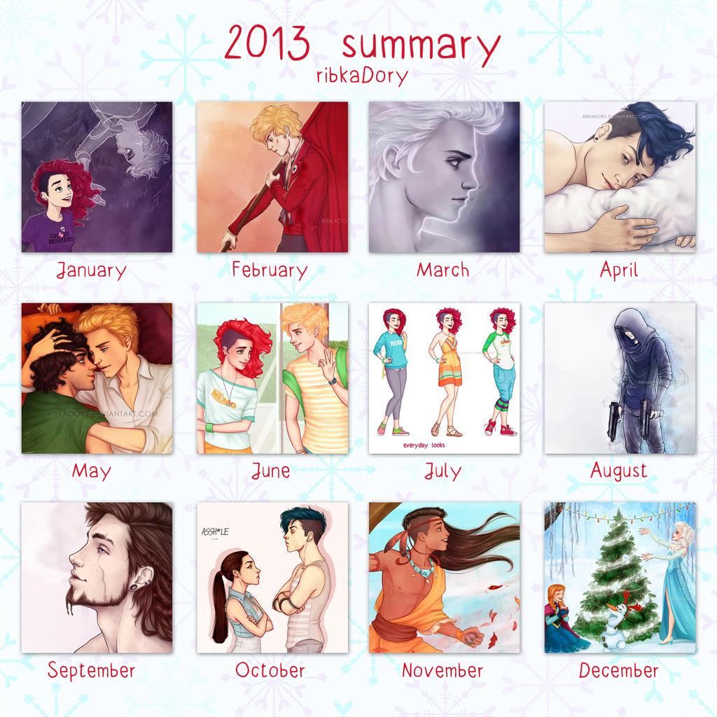 2013 Summary by ribkaDory