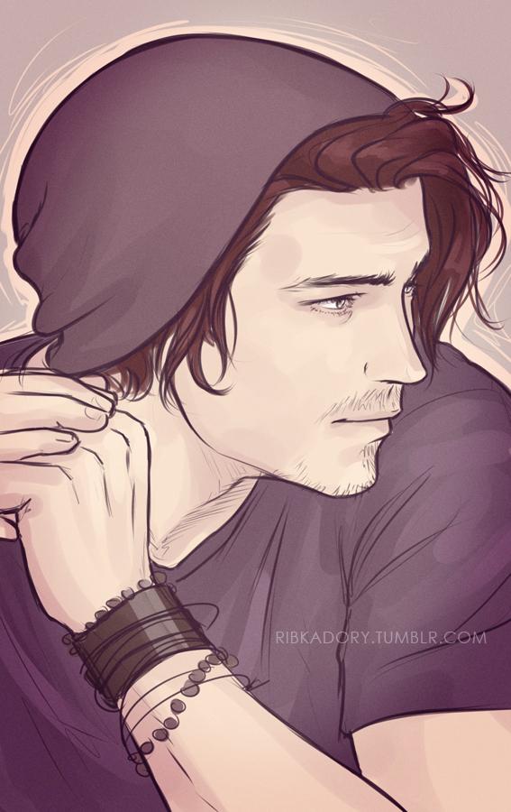 Ian by ribkaDory