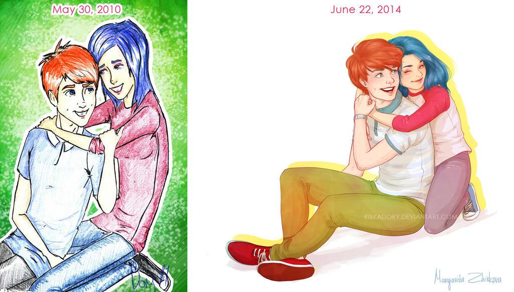 Draw It Again Meme by ribkaDory